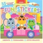 Книга 2 Fun stickers. Книжка з наліпками