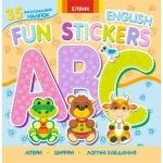 Книга 4 Fun stickers. Книжка з наліпками
