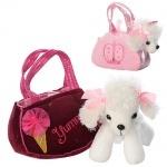 Собачка детская в сумке