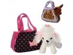 Игрушка собачка в сумочке