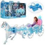 Карета с лошадью для куклы
