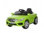 Детский электромобиль Mercedes на р/у, зеленая