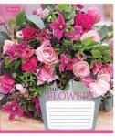Тетрадь в клеточку А5/48 Flowers bouquet