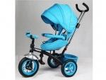 Детский 3-х колесный велосипед TURBOTRIKE, бирюзовый
