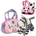 Игрушка животное в сумочке