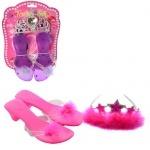 Набор аксессуаров для девочки - туфли, корона