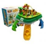 Конструктор детский столик-сортер, зоопарк