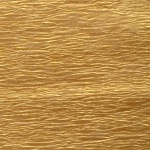 Бумага гофрированная перламутровая кремовая 20%