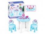 """Столик со стульчиками для девочек """"Фроузен"""""""