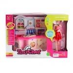 Мебель кухня с куклой