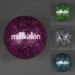 Мяч футбольный, 4 цвета, 400гр, шар с ниткой