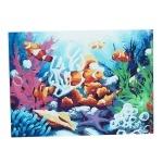 """Картина """"Подводный мир"""" по номерам"""
