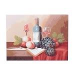 "Картина ""Натюрморт с вином"" по номерам"