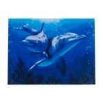 """Картина """"Дельфины"""" по номерам 50*65см"""