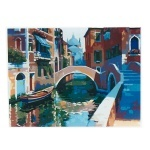 """Картина """"Венеция"""" по номерам 50*65см"""
