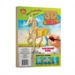 """Деревянный 3D пазлы """"Лошадь"""""""