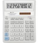 """Калькулятор """"Brilliant"""" 12-ти зарядный белый"""