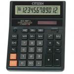 """Калькулятор """"Citizen"""" 12-ти зарядный, черный (оригинал)"""
