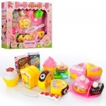 Продукты игрушечные сладости, на липучке