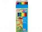 "Набор цветных карандашей, 24 цвета ""Colorite"" (new)"