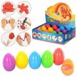 Жвачка для рук в пластиковом яйце - БЛОК