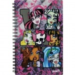 Блокнот Monster High, 80 листов, А5-