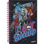 Блокнот Monster High, 80 листов, А5-