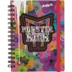 Блокнот Monster High-2, 80 листов, А6