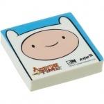 """Ластик """"Adventure Time"""" квадратный"""