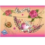 "Папка-конверт ""Pink Cookie"" на кнопке"