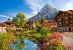 "Пазлы 500 ""Кандерштеге, Швейцария"""