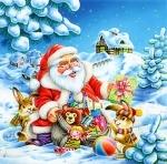 """Касторленд пазлы 500 """"Санта Клаус"""""""
