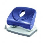 Дырокол Axent Welle 3830 30 листов 6,0мм синий