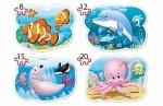 """Пазлы 4в1 """"Подводный мир"""""""