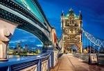 """Пазлы 2000 """" Тауэрский мост в Лондоне,"""""""