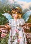 """Пазлы 180 """"Ангел с бабочкой"""""""