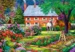 "Пазлы 1500 ""Чудесный сад"""