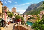 """Пазлы 1500 """"Старый город Мостар,"""""""