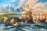 """Пазлы 1500 """"Приключение в Новый Свет"""""""