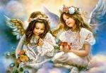 """Пазлы 1500 """"Два ангела"""""""