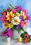 """Пазлы 1500 """"Букет цветов"""""""