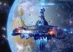 """Пазлы 120 midi """"Космический корабль"""""""