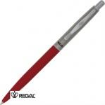 Ручка шариковая Regal Синяя 0.7 мм Красный корпус