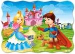 "Беби пазлы 030 ""Принц и принцесса"""