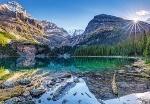 "Пазлы 1000 ""Озеро О'Хара, Канада"""