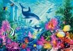 "Пазлы 1000 ""Дельфины"""