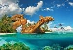 "Пазлы 1000 ""Дельфиний рай"""