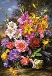 """Пазлы 1000 """"Ваза с цветами"""""""