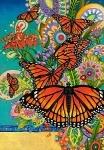 """Пазлы 1000 """"Бабочки Монархи"""""""