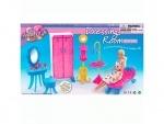 Набор мебели для кукол Ванная комната